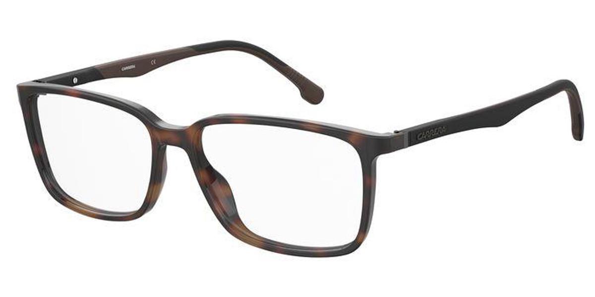 Carrera 8856 086 Men's Glasses Tortoise Size 56 - Free Lenses - HSA/FSA Insurance - Blue Light Block Available