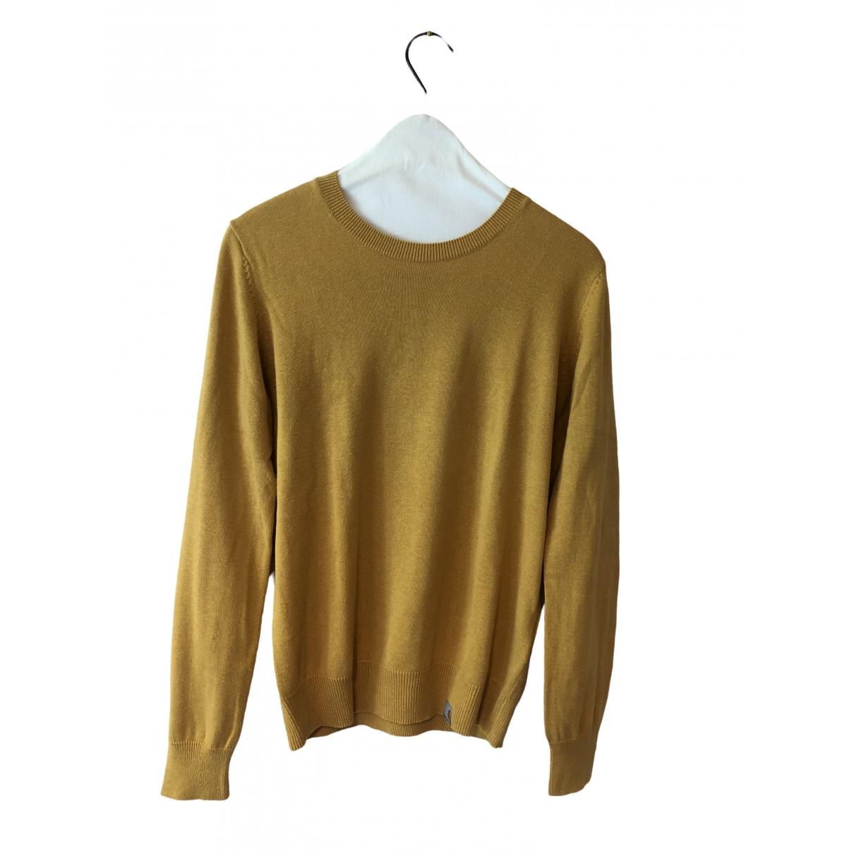 Carhartt \N Pullover.Westen.Sweatshirts  in  Gelb Baumwolle