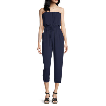 Premier Amour Sleeveless Jumpsuit, 16 , Blue