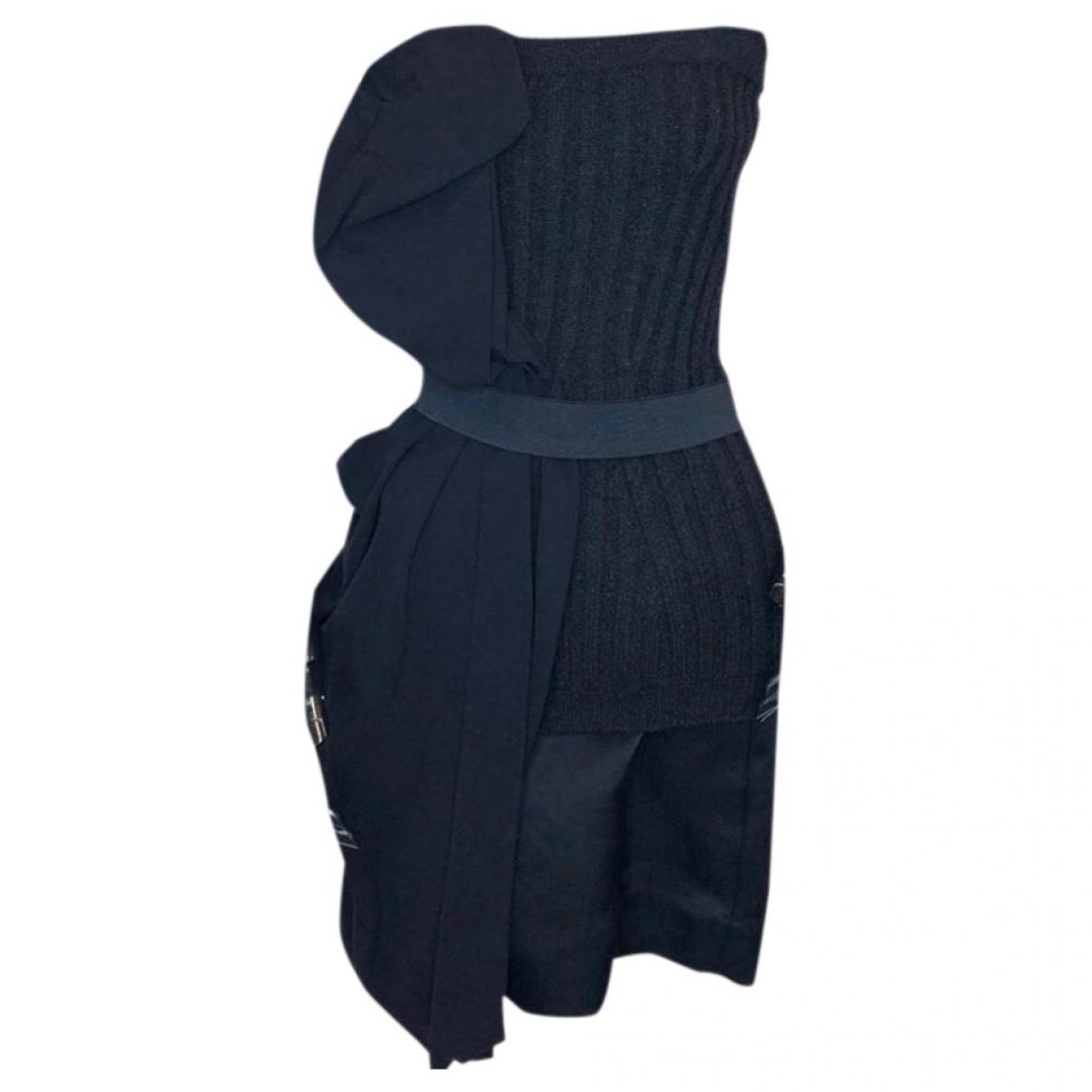 Lanvin \N Kleid in  Grau Wolle