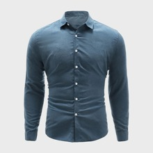 Shirt mit Knopfen und langen Ärmeln