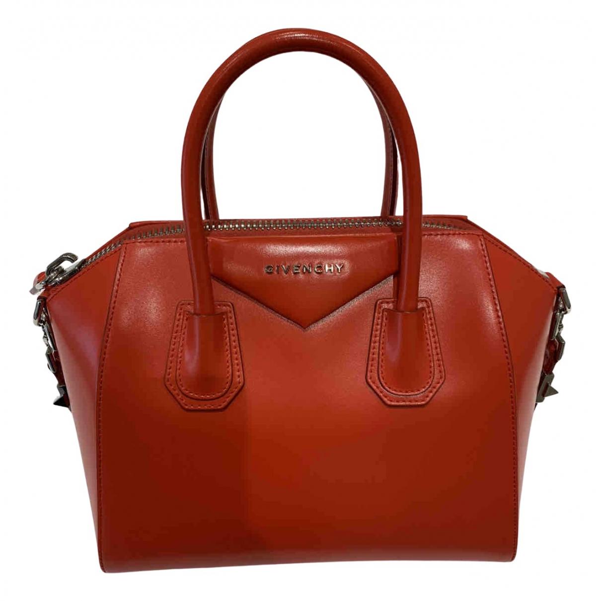 Givenchy Antigona Handtasche in  Rot Leder