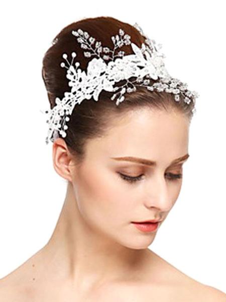 Milanoo Accesorios para el cabello de tocado de boda para novia