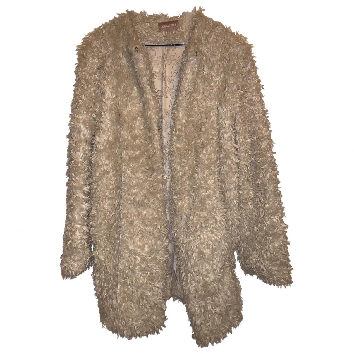 Zadig & Voltaire \N Faux fur coat for Women 44 IT