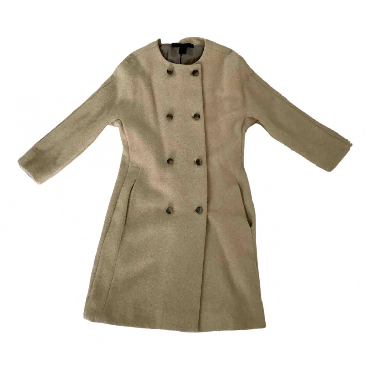 Marc By Marc Jacobs N Beige Wool coat for Women S International
