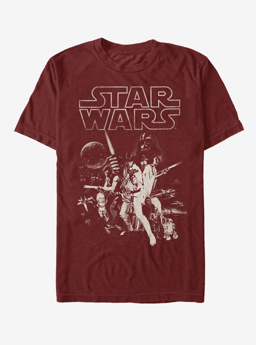 Star Wars Classic Poster T-Shirt