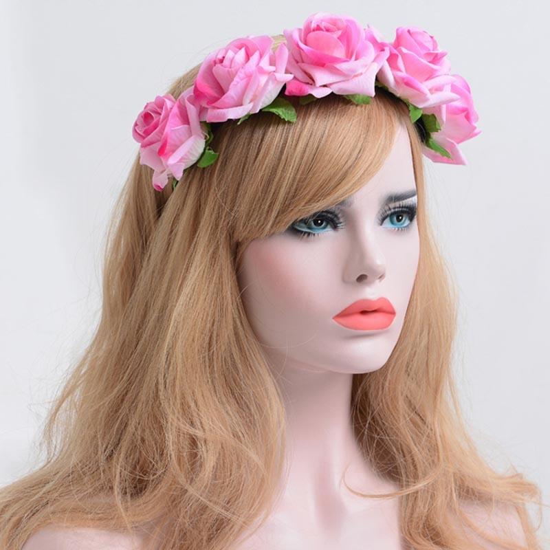Ericdress Hot Imitation Rose Flower Hair Accessories for Women