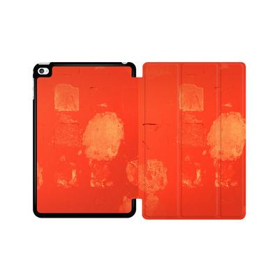 Apple iPad mini 4 Tablet Smart Case - Red Block Background von Brent Williams