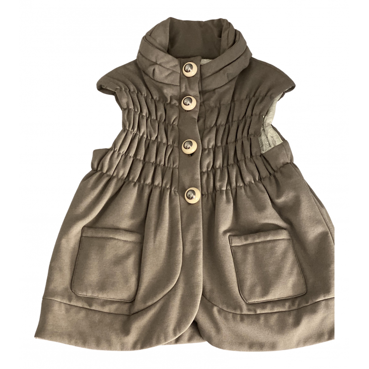 Non Signé / Unsigned N Grey jacket for Women 40 FR