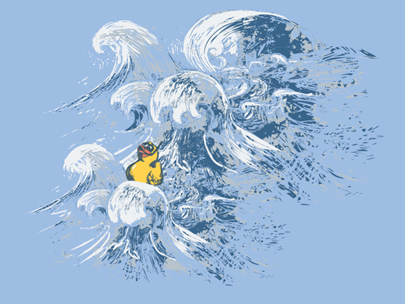 Off And Away . . . T Shirt