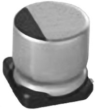 Nichicon 18μF Polymer Capacitor 35V dc, Surface Mount - PCV1V180MCL1GS (2)