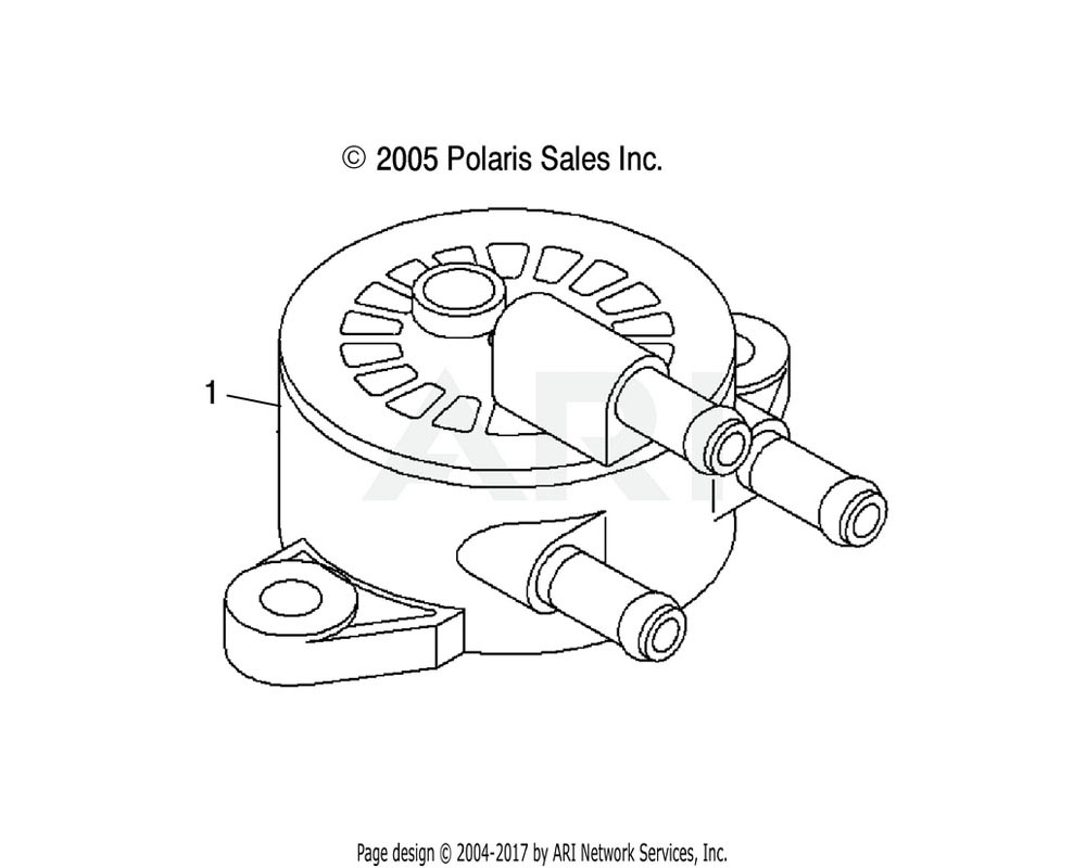 Polaris OEM 3089760 Pump, Fuel