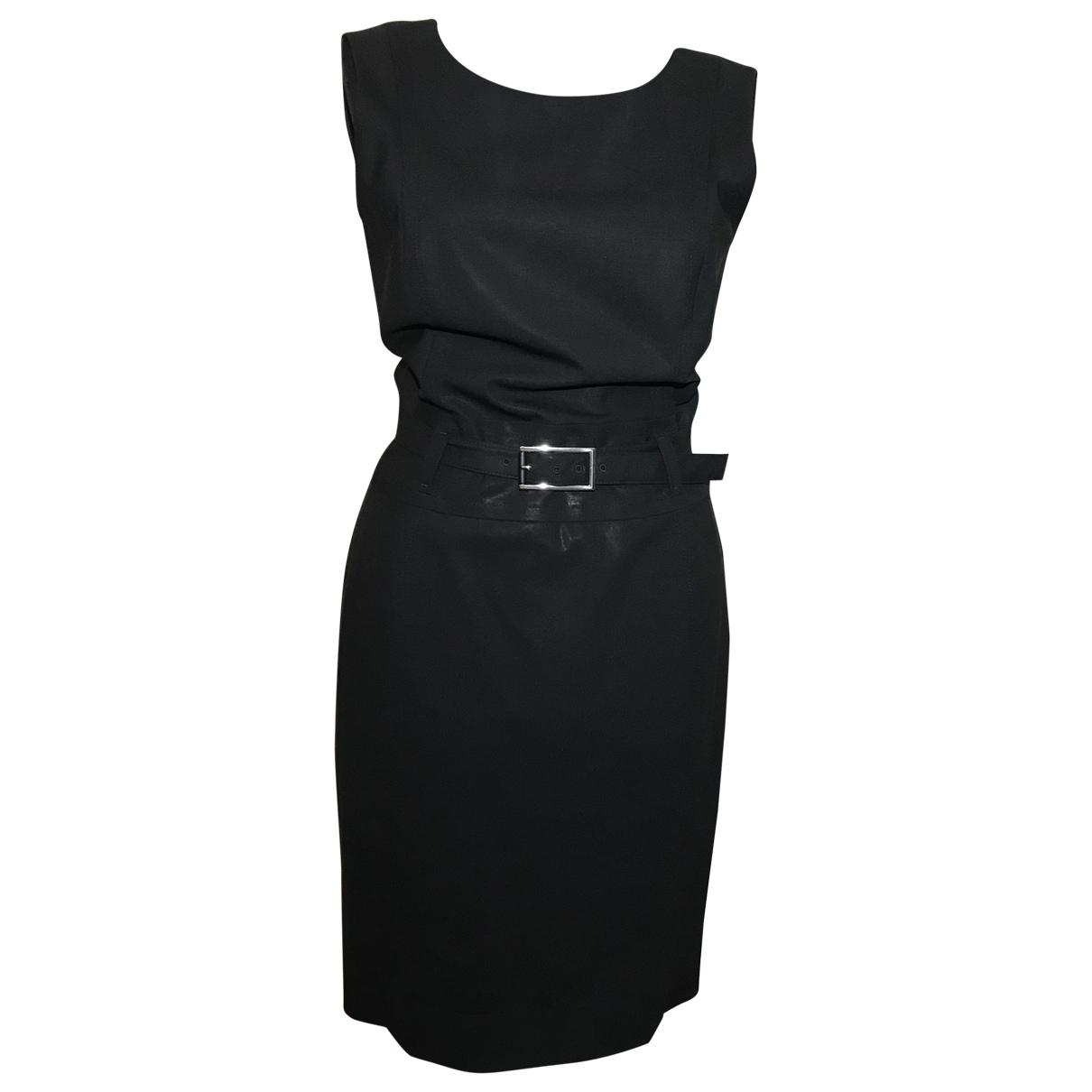 Boss \N Black Wool dress for Women 36 FR