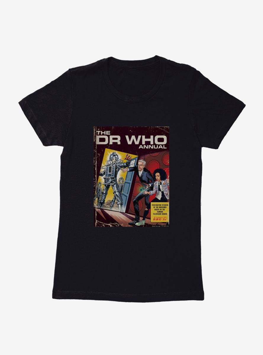 Doctor Who Cybermen Annual Comic Cover Womens T-Shirt