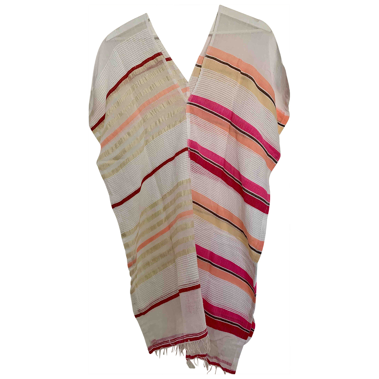 Lemlem \N Kleid in  Weiss Baumwolle