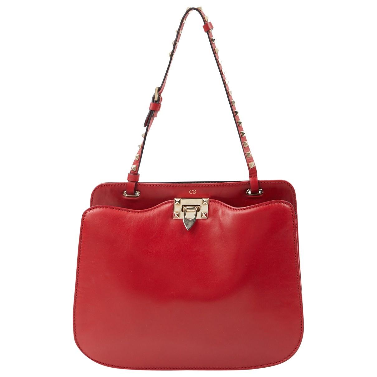 Valentino Garavani \N Red Leather handbag for Women \N