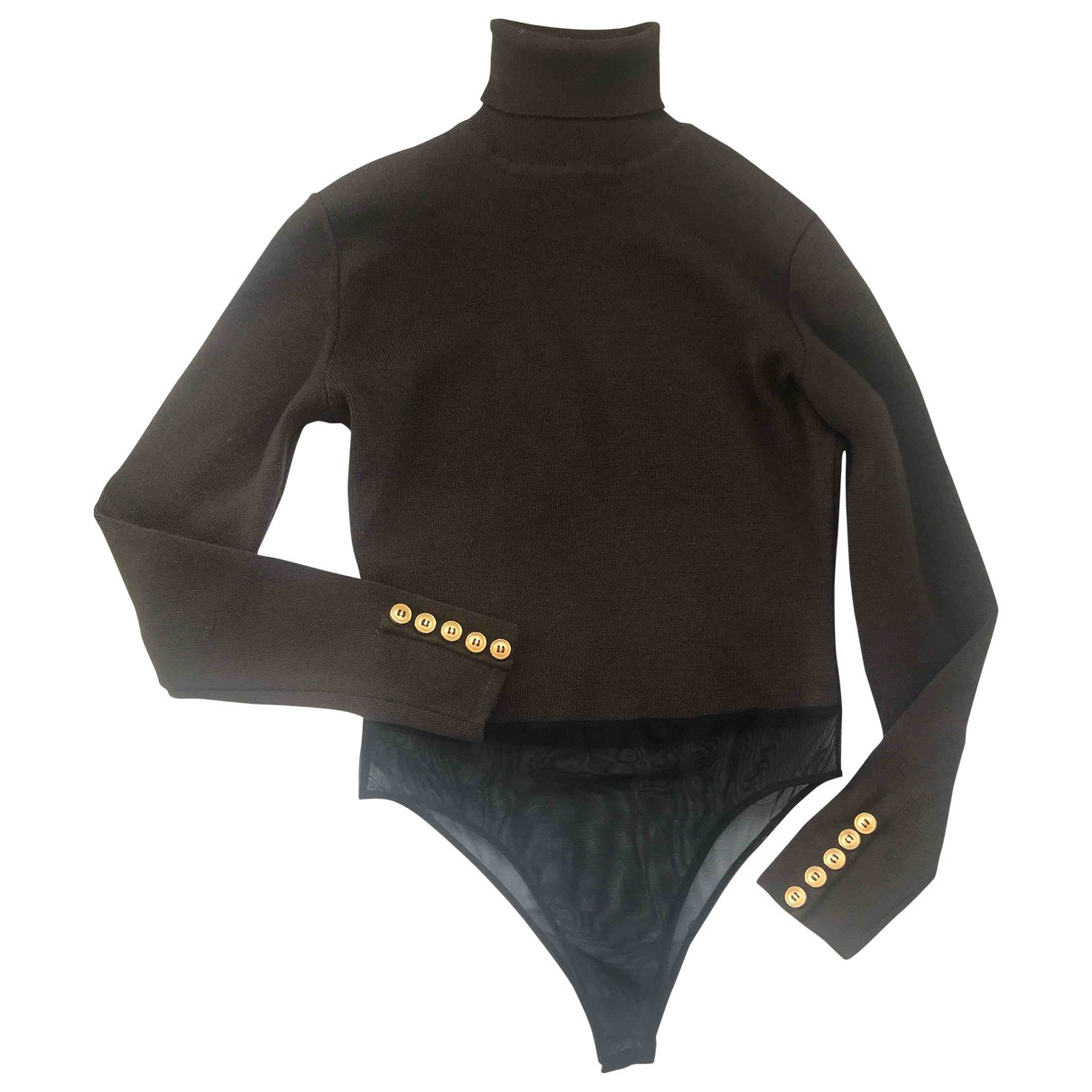 Dior - Pull   pour femme en laine - marron