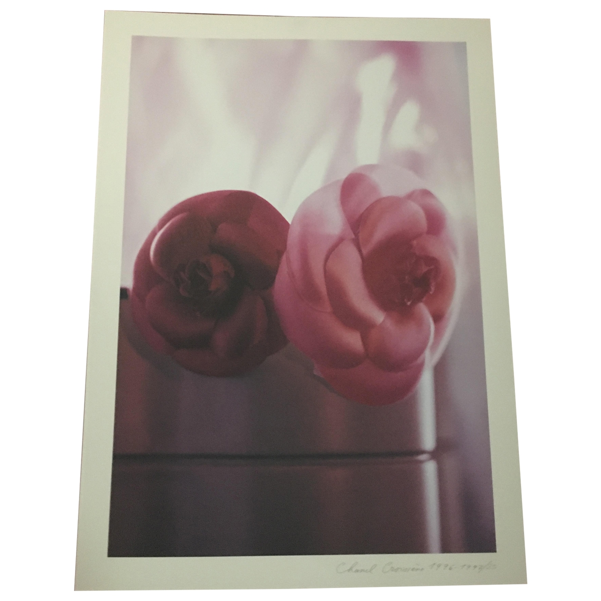 Chanel - Photographie   pour lifestyle en coton - rose