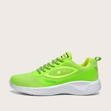 Guys Lace-up Front Letter Graphic Sneakers