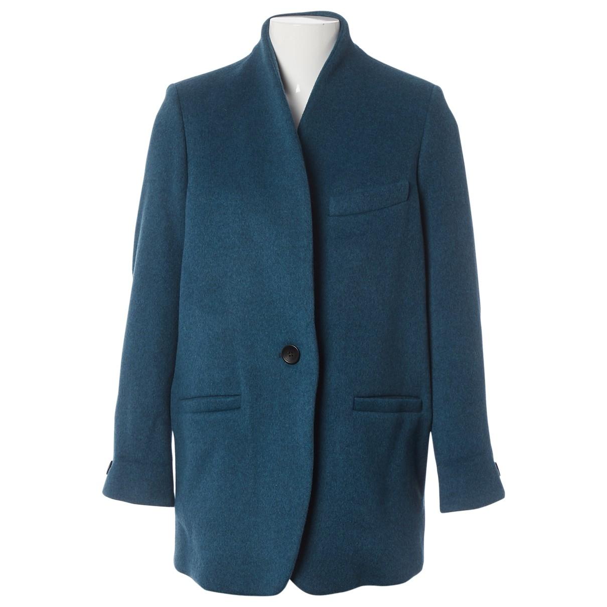 Isabel Marant - Veste   pour femme en laine - bleu