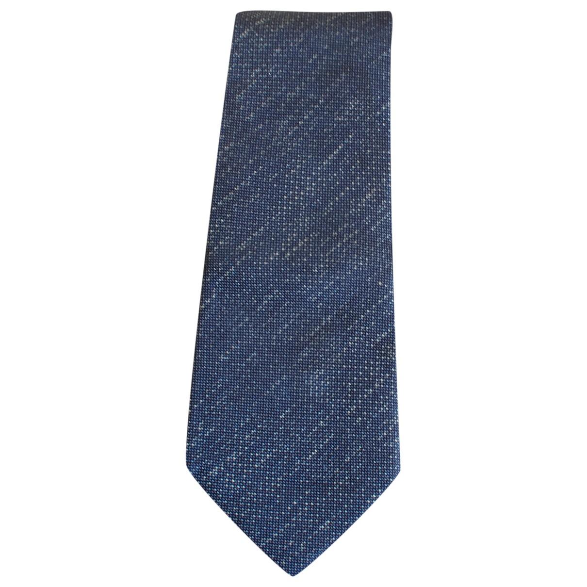 Bottega Veneta \N Navy Silk Ties for Men \N