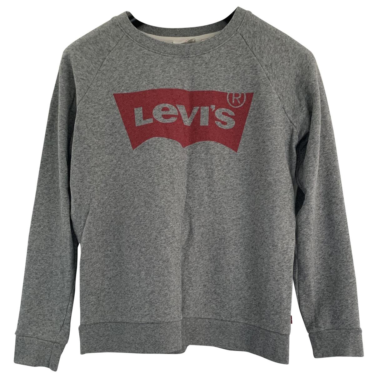 Levis \N Pullover in  Grau Baumwolle