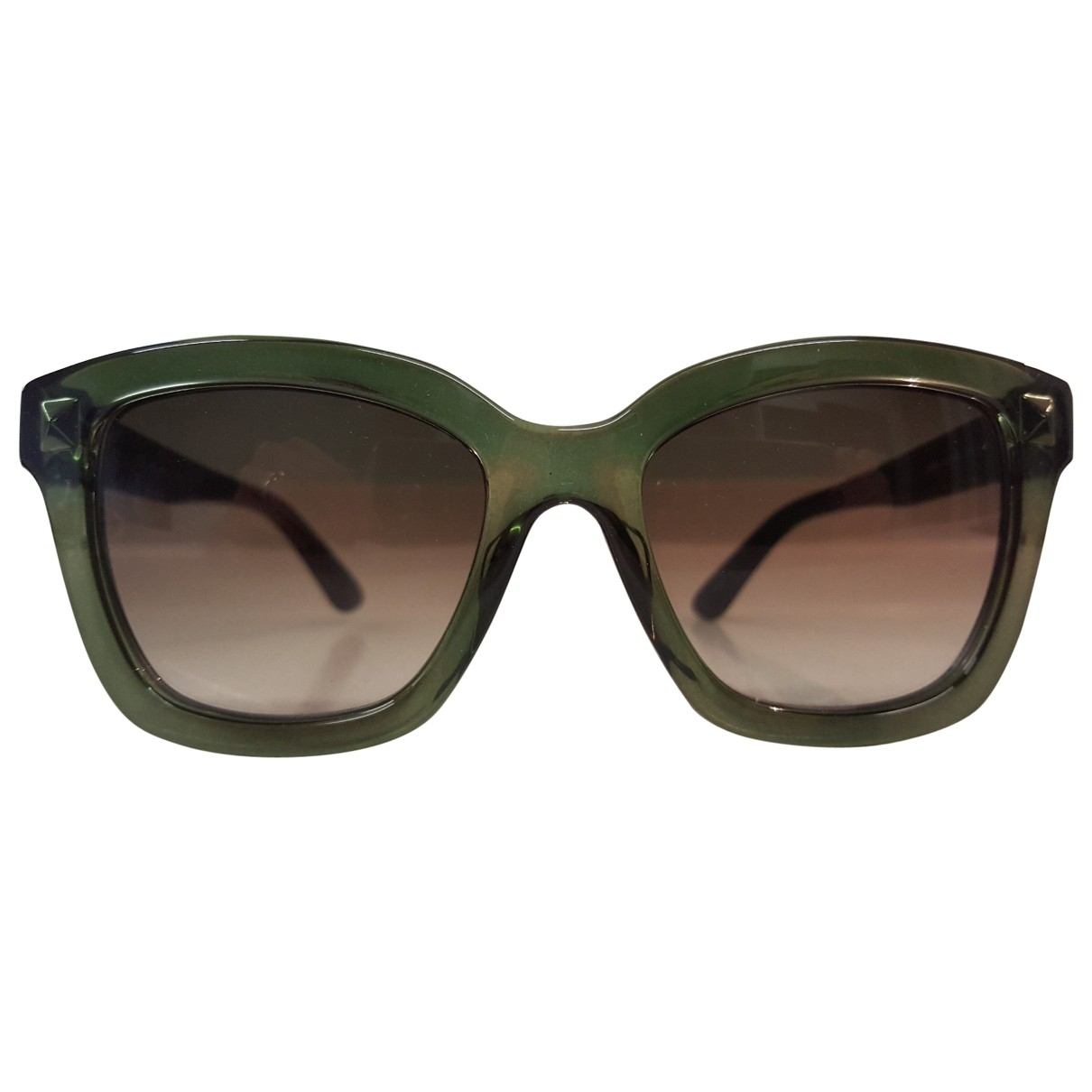 Valentino Garavani \N Sonnenbrillen in  Gruen Kunststoff