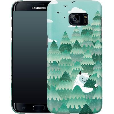 Samsung Galaxy S7 Edge Smartphone Huelle - Tree Hugger von Little Clyde