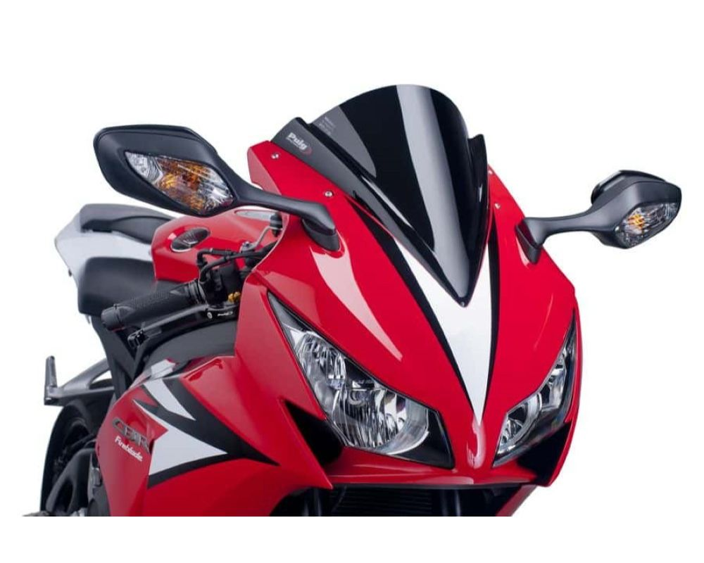 Puig 5994N Z-Racing Windscreen - Black Honda CBR1000RR Fireblade 2012