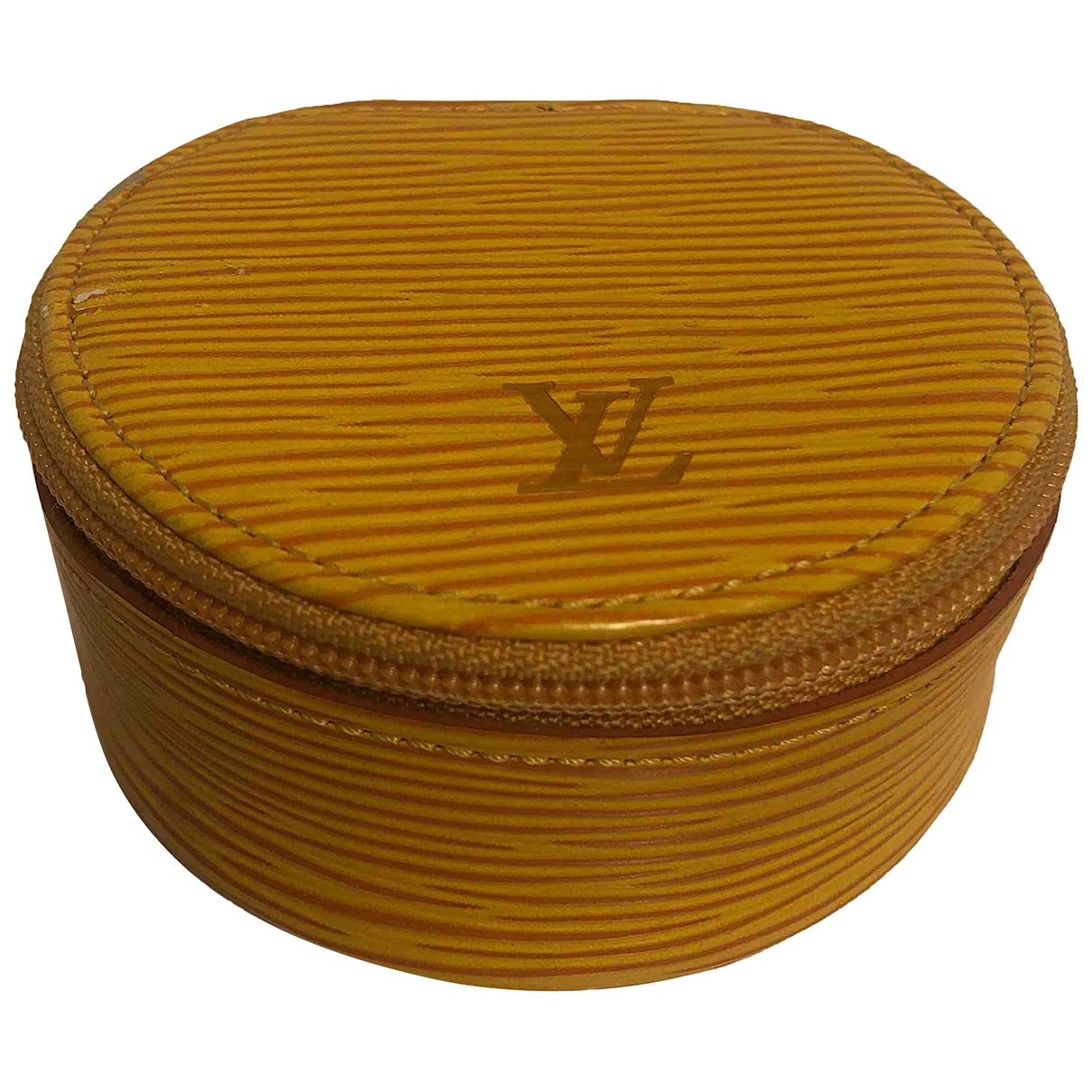 Objeto de decoracion de Cuero Louis Vuitton