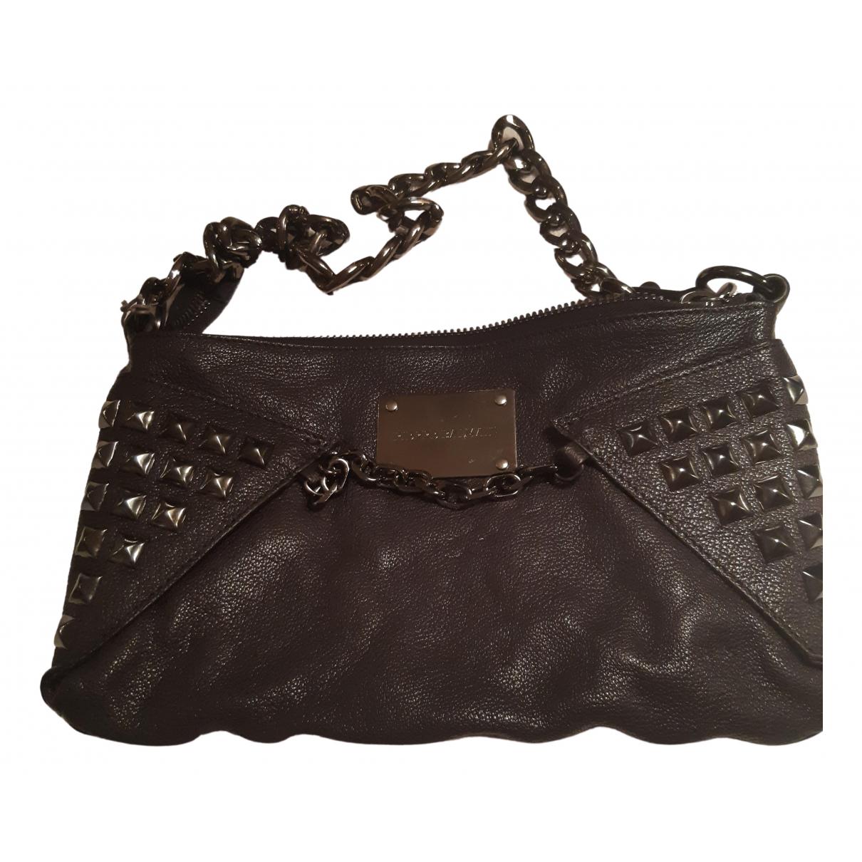 Balmain \N Black Leather handbag for Women \N
