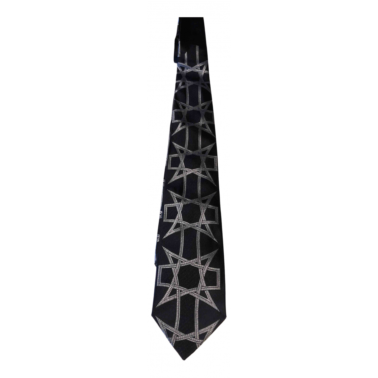 Roberto Cavalli \N Krawatten in  Blau Seide