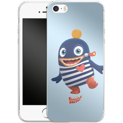 Apple iPhone 5 Silikon Handyhuelle - Sorgenfresser Ping von Sorgenfresser