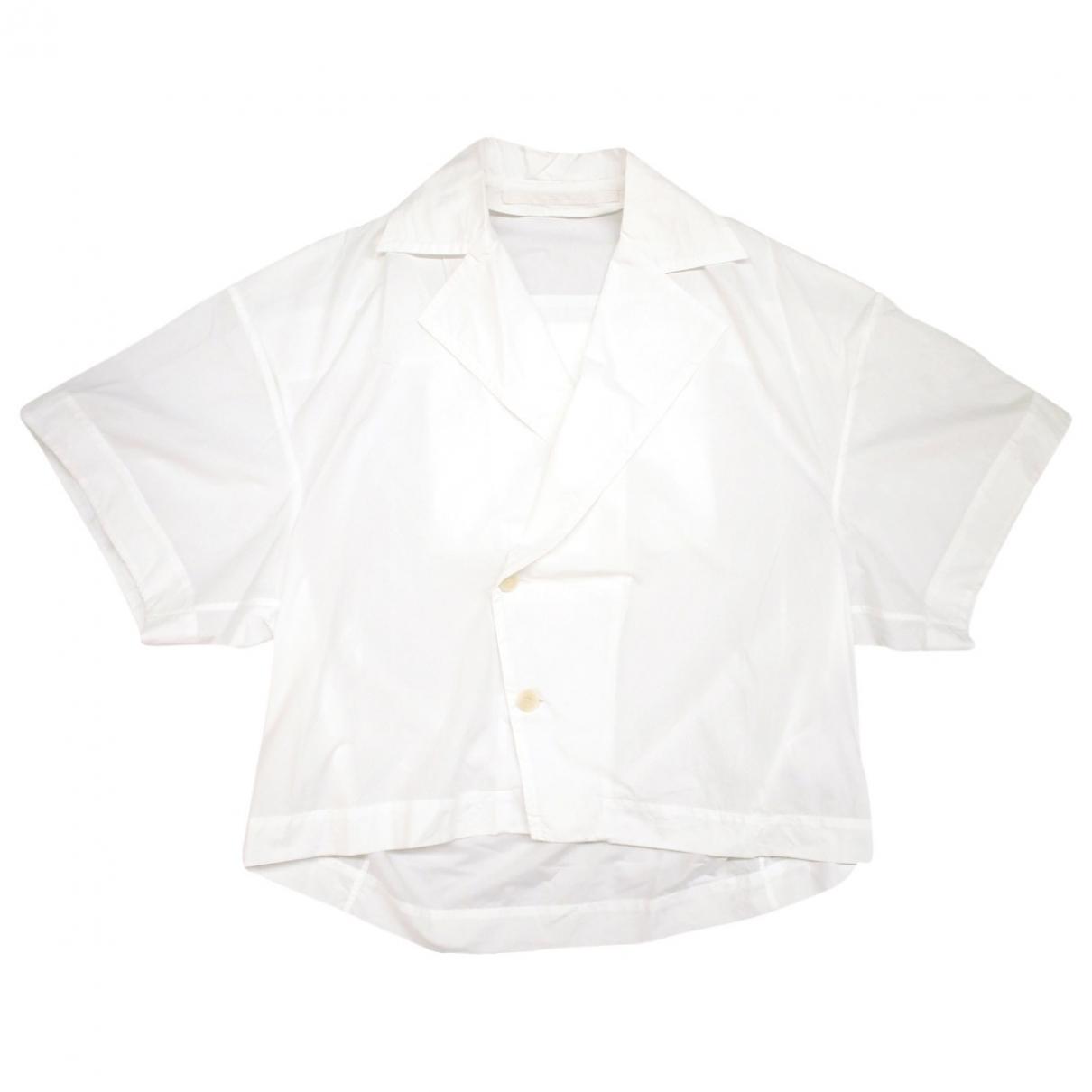 Julius 7 \N T-Shirts in  Weiss Baumwolle