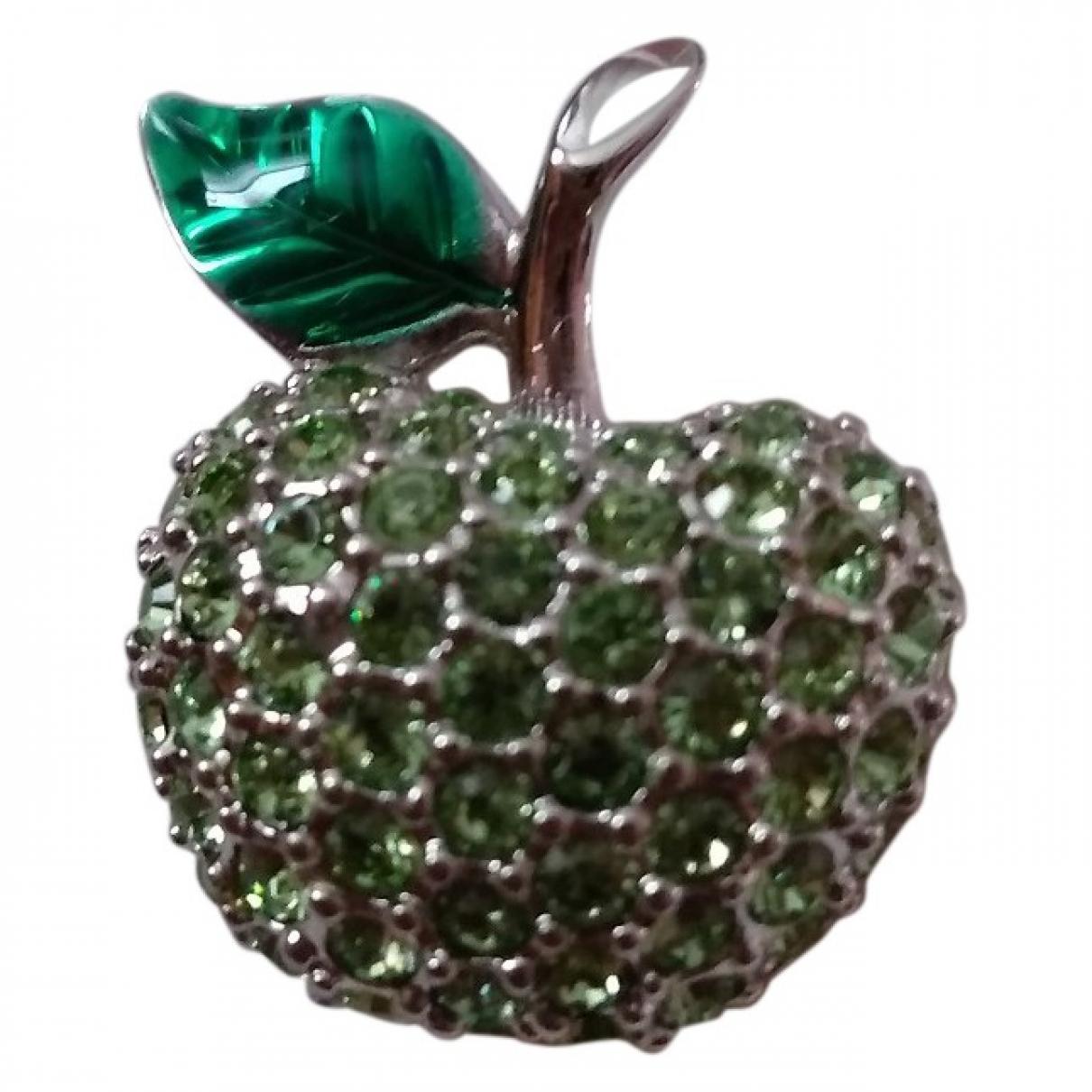 Swarovski \N Green Metal Pins & brooches for Women \N