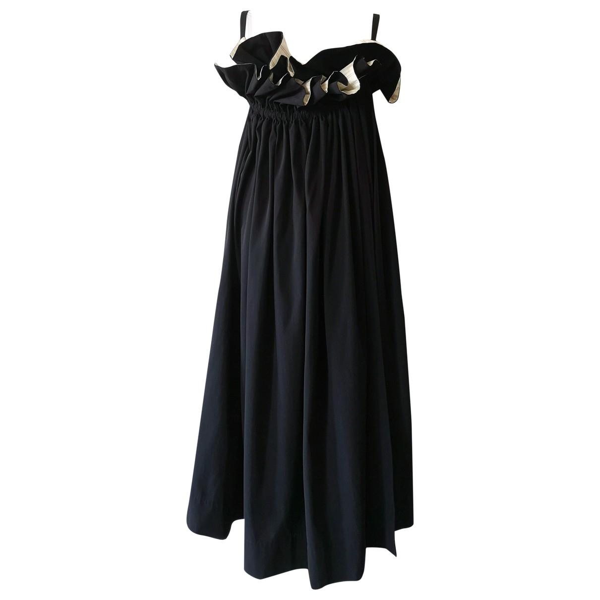 Limi Feu - Robe   pour femme en laine - noir