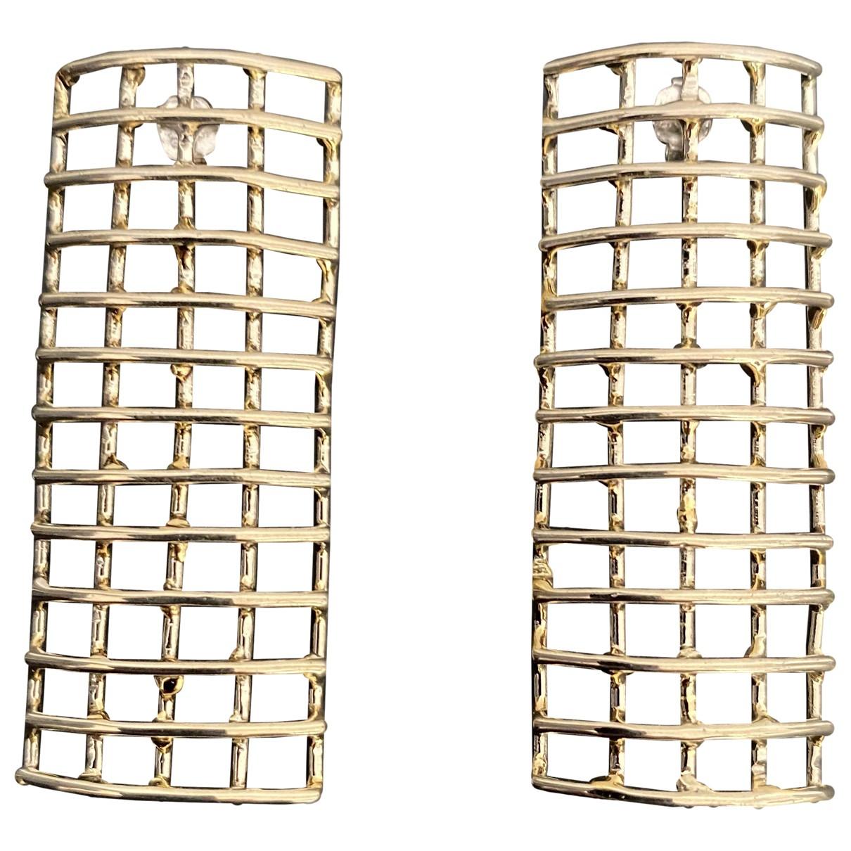 Anndra Neen - Boucles doreilles   pour femme en metal - argente