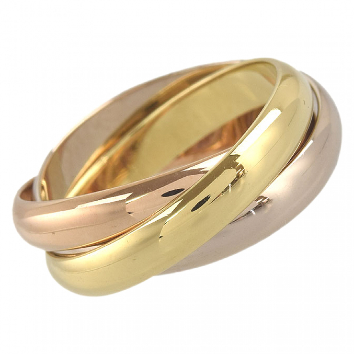 Cartier Trinity Ring in  Gold Gelbgold
