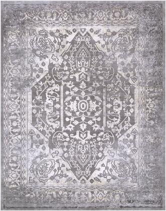 Tibetan TBT-2300 710 x 102 Rectangle Traditional Rugs in Charcoal  Ivory  Khaki  Medium