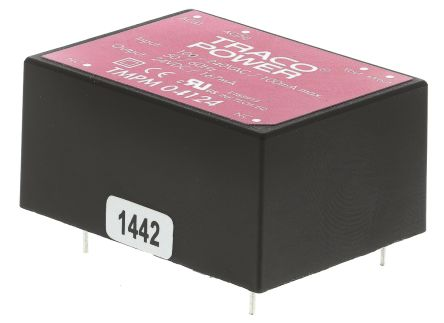 TRACOPOWER , 4W Embedded Switch Mode Power Supply SMPS, 24V dc, Encapsulated