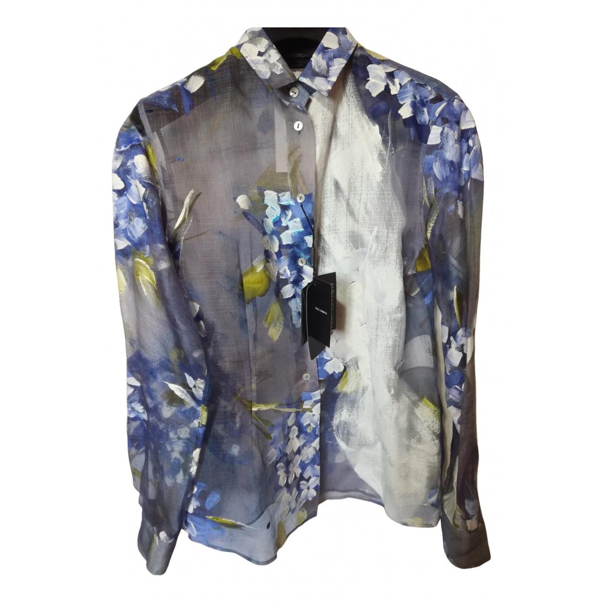 Dolce & Gabbana \N Silk  top for Women 44 IT