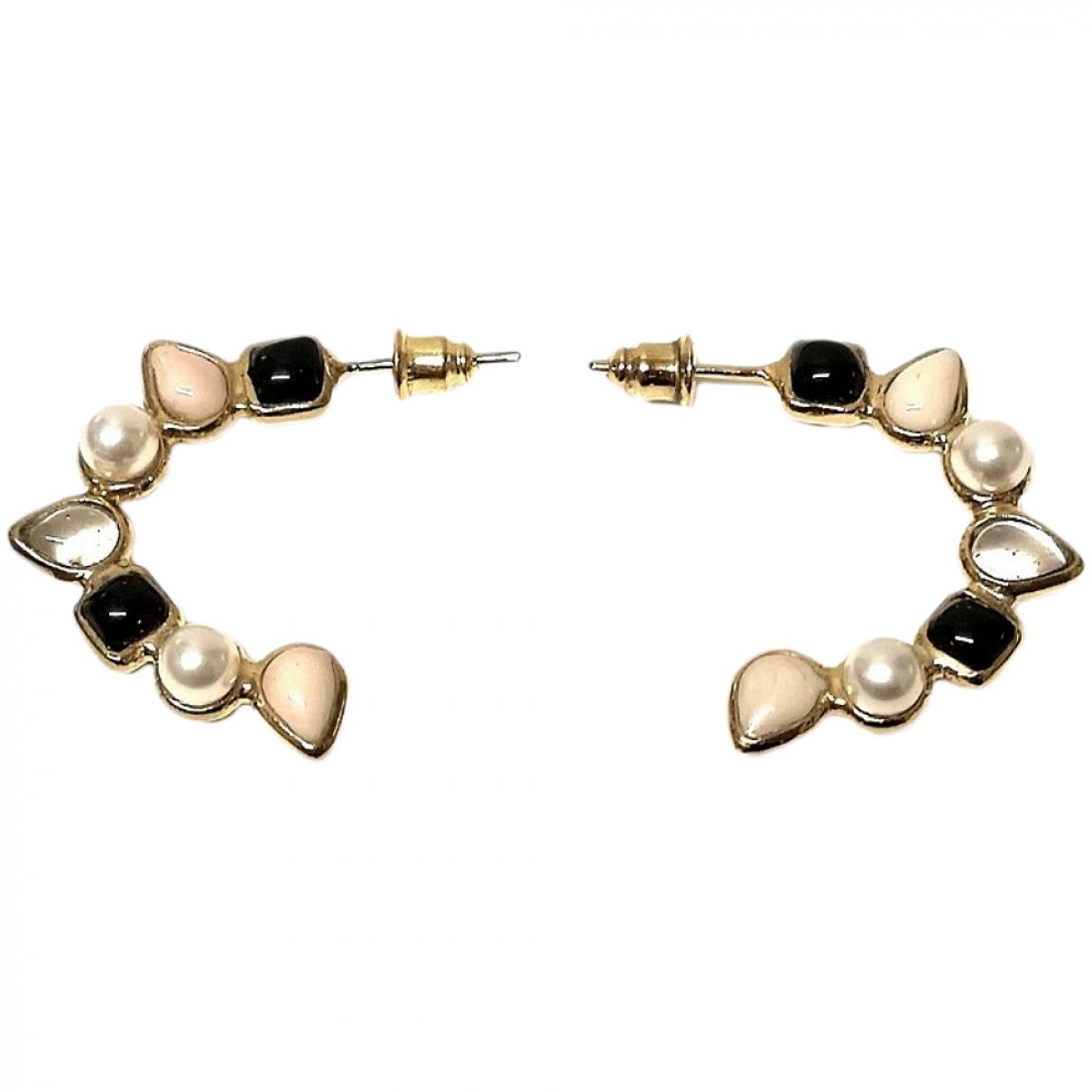 Gripoix Paris \N Gold Glass Earrings for Women \N