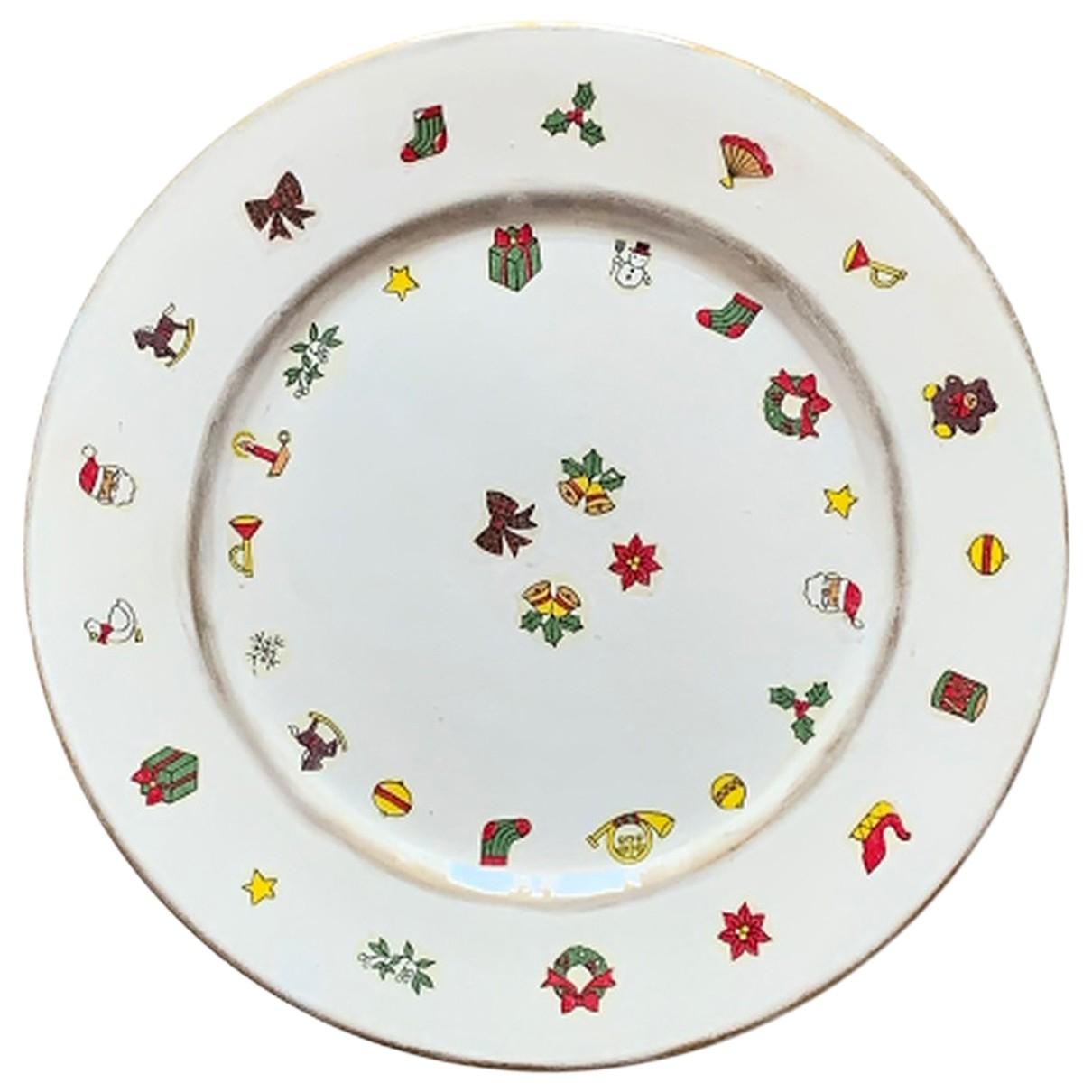 Platos de Ceramica Non Signe / Unsigned