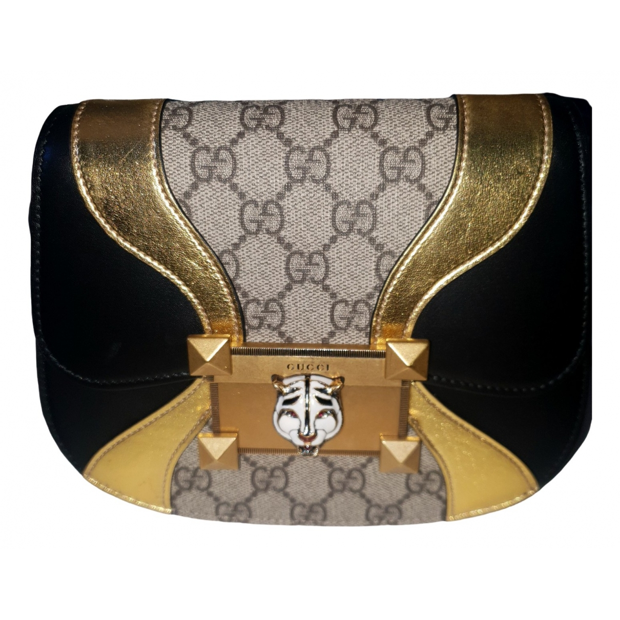 Gucci Osiride Gold Leather handbag for Women \N
