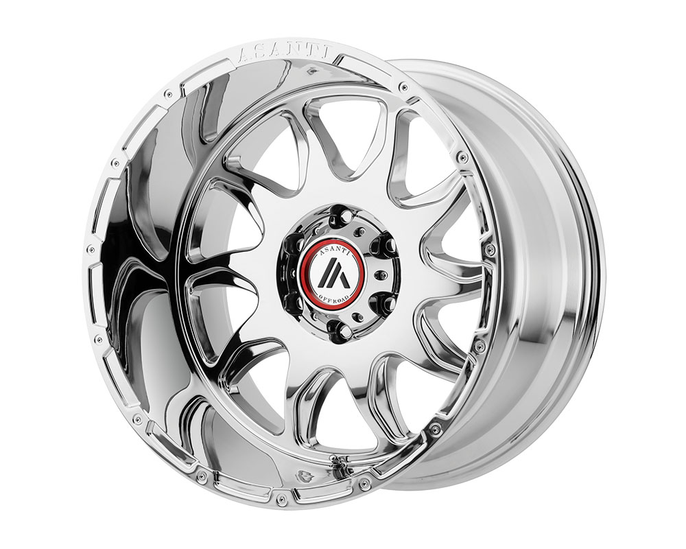 Asanti AB810-20125044NCH Off-Road AB810 Ballistic Wheel 20x12 5x5x127 -44mm Chrome