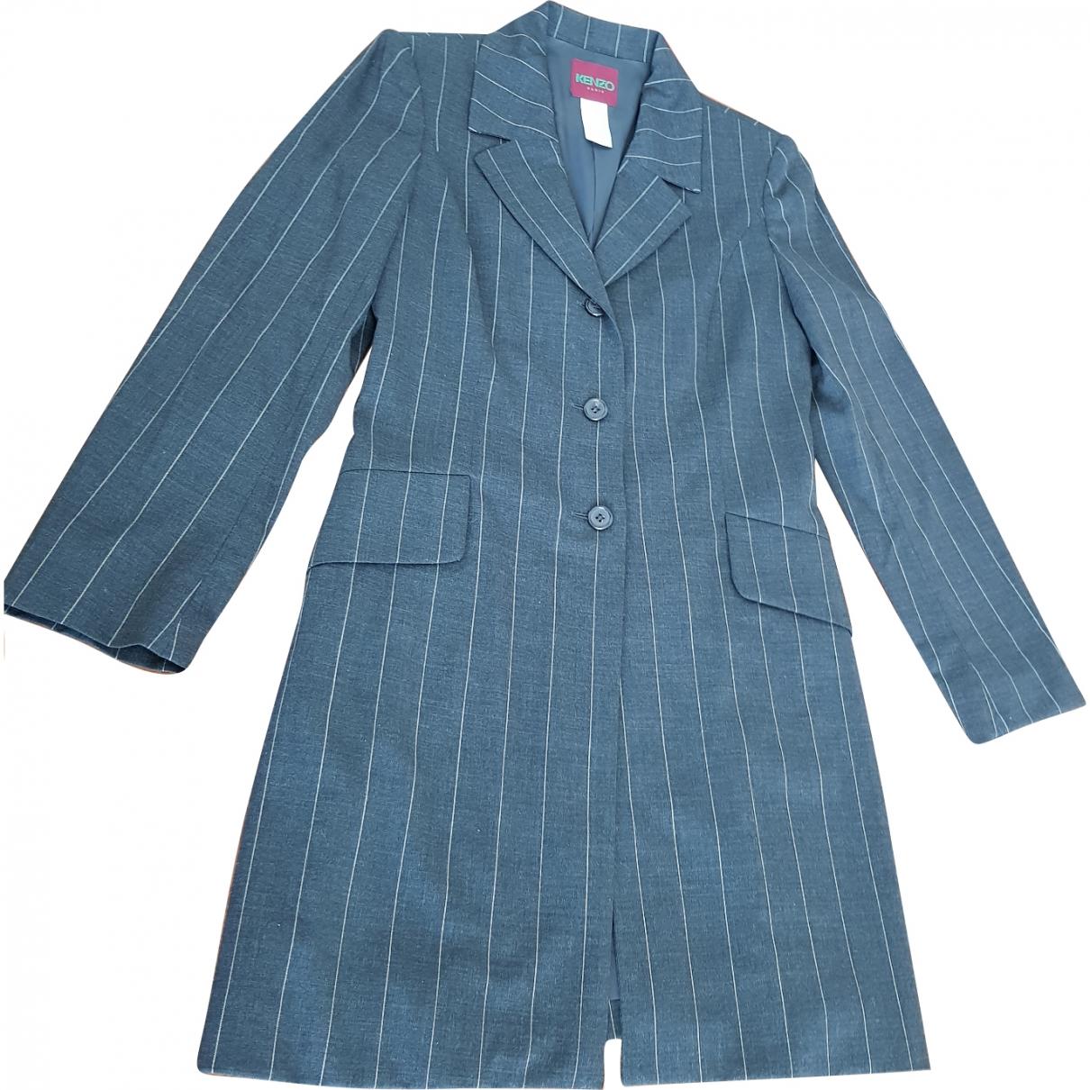 Kenzo \N Grey Wool jacket for Women 36 FR