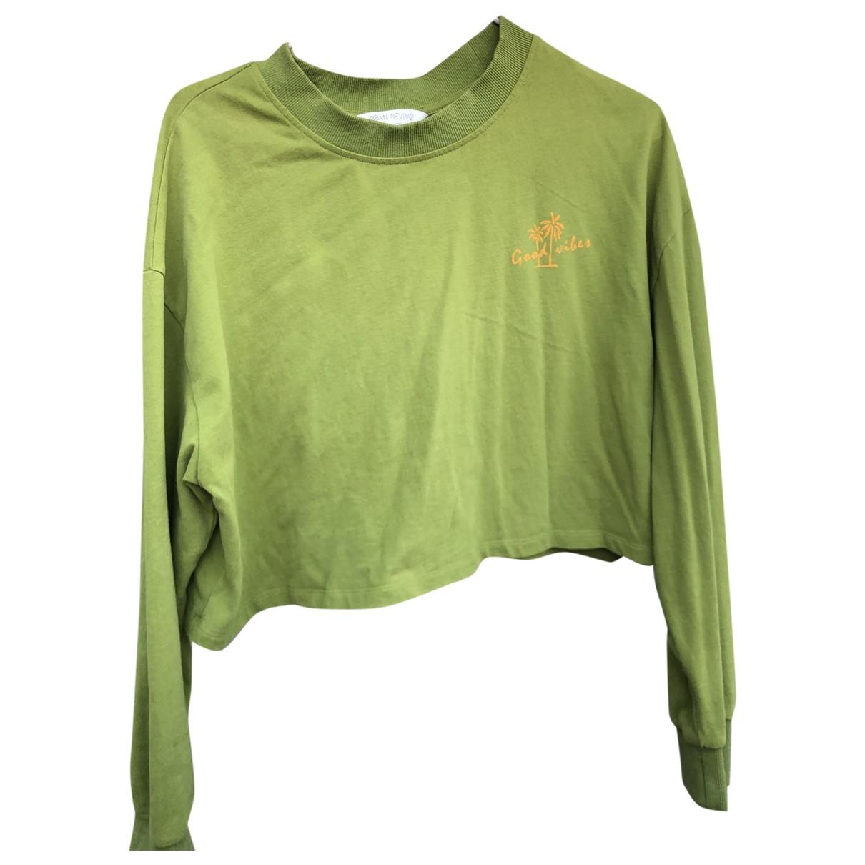 - Top Hippie Chic pour femme en coton - vert