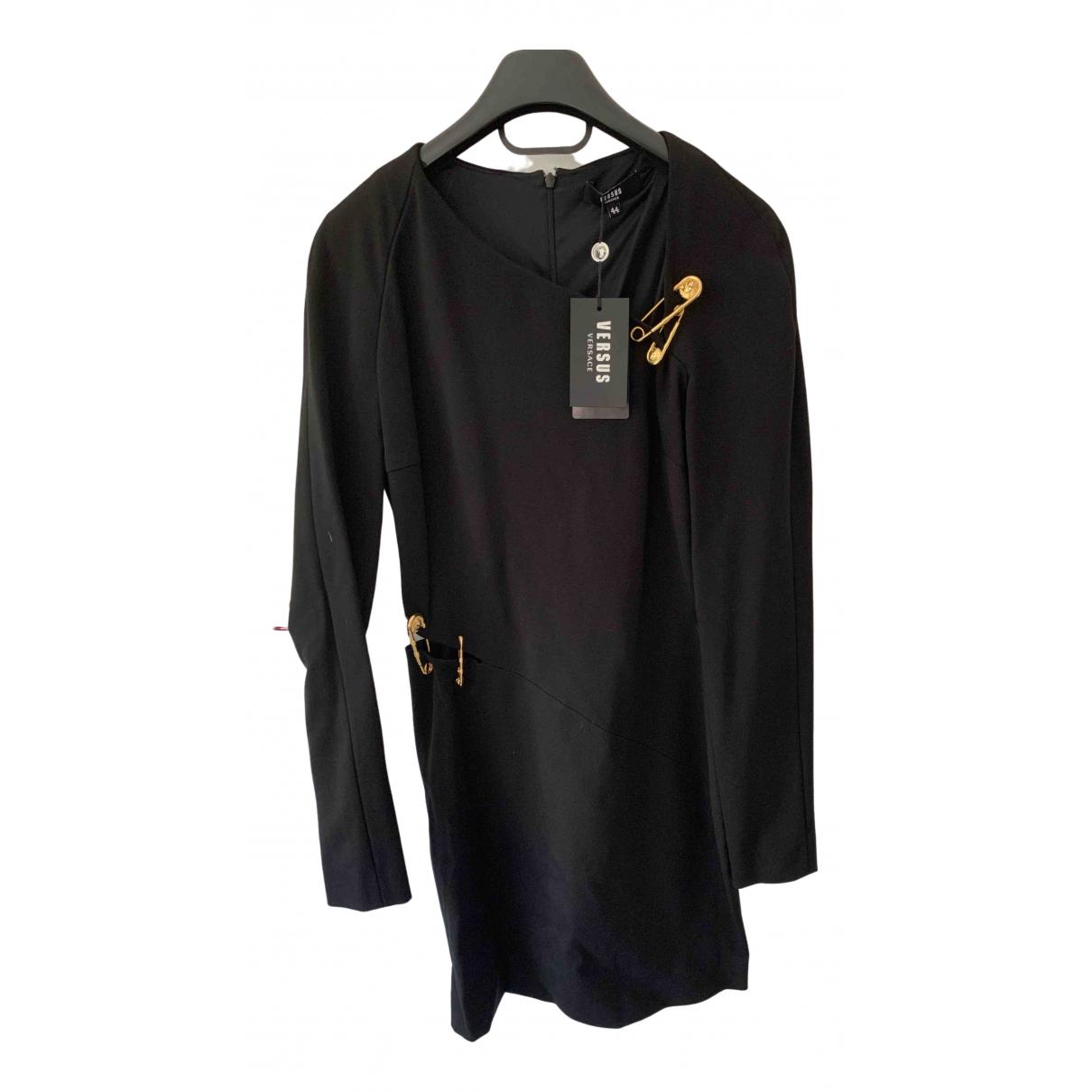 Versus \N Kleid in  Schwarz Polyester
