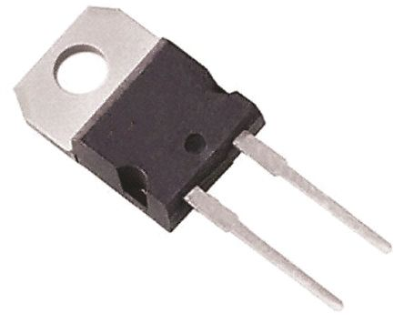Vishay 100V 10A, Schottky Diode, 2-Pin TO-220AC MBR10100-E3/4W (10)