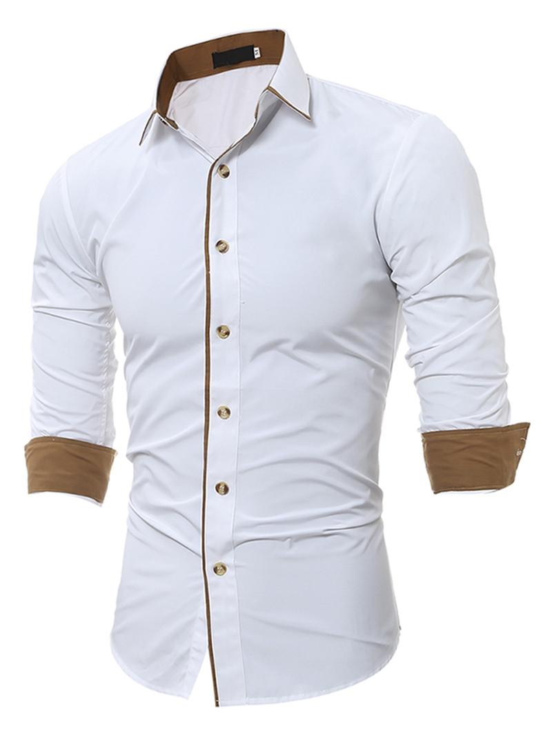 Ericdress Unique Slim Men's Shirt